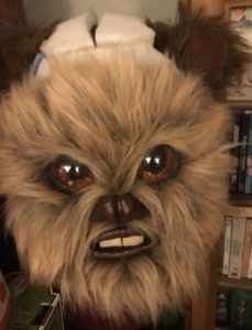 Ewok face with further reduction